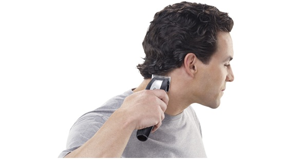 The way to check the blades of hair clippers