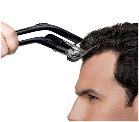 Don't use the electric clippers for your wet hair