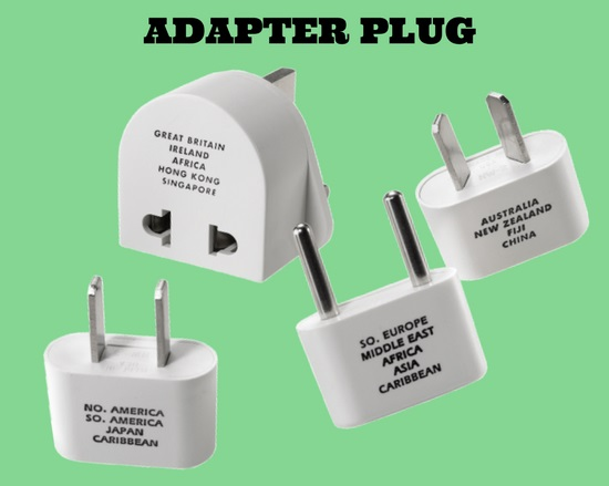 Adapter plug set